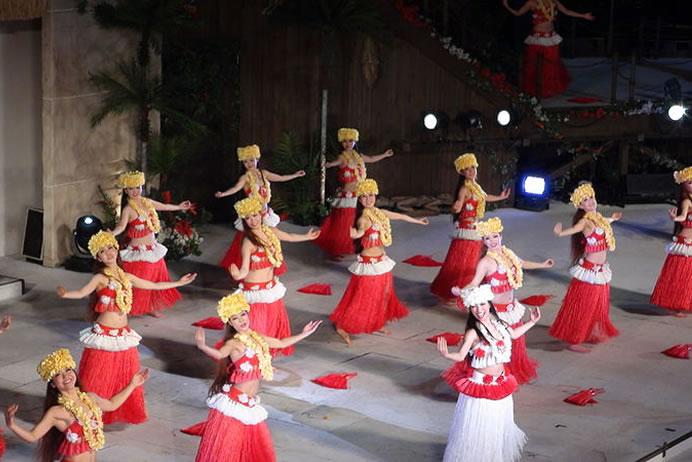 &nbspSpa Resort Hawaiians: parque aquático e onsen com tema havaiano