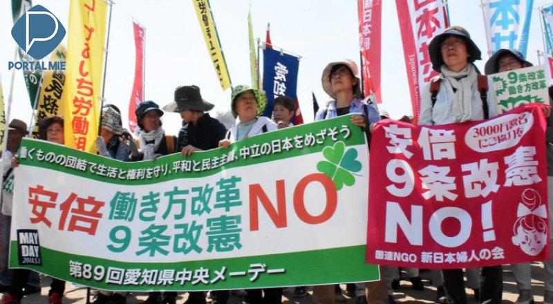 &nbsp'Ambientes sem karoshi': celebrações do Dia do Trabalhador