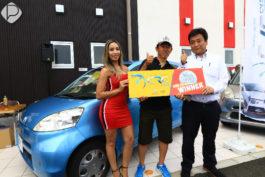 Mugen Foods Suzuka&nbspInauguração da CRC Cars em Mie