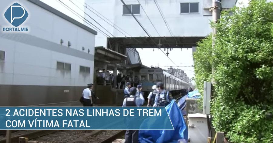 &nbspAtropelamentos nas linhas de trem: um fatal