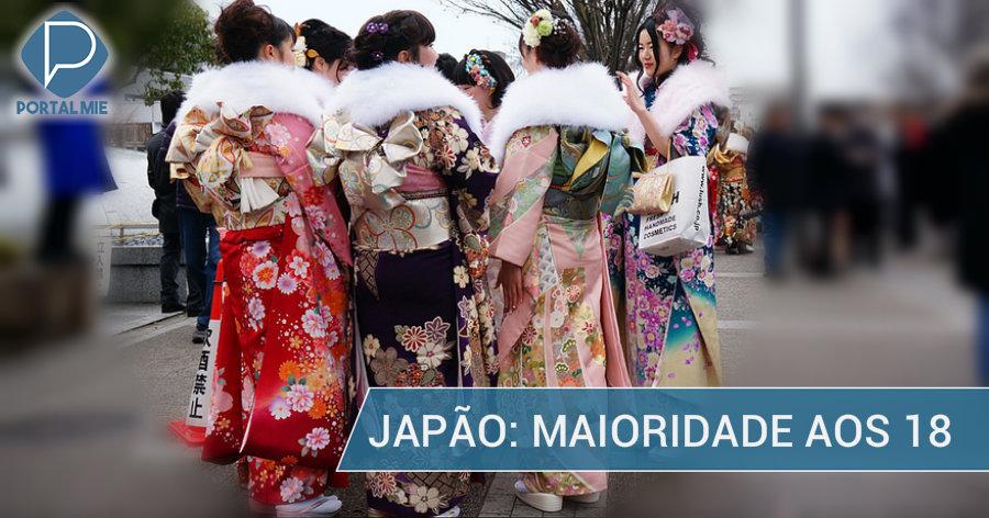 &nbspMaioridade aos 18 no Japão, a partir de 2022