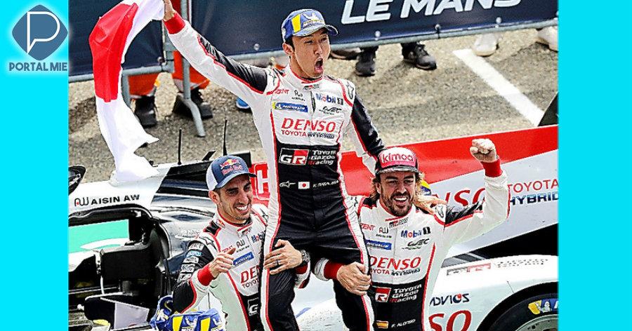 &nbspPrimeira vitória da Toyota nas 24 Horas de Le Mans