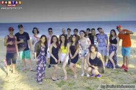 &nbspAniversário de Duda no Chiyozaki Beach