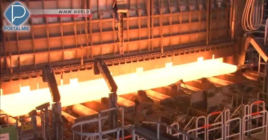 &nbspEUA isentam alguns produtos de aço do Japão das tarifas globais de 25%