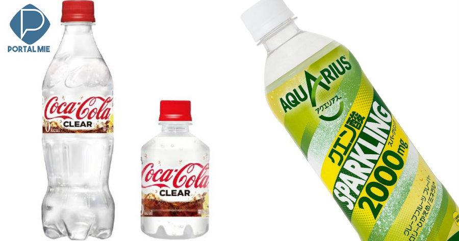 &nbspCoca-Cola transparente para o público do Japão