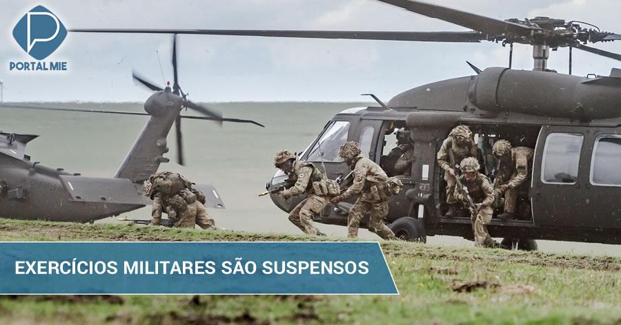 &nbspEUA e Coreia do Sul suspendem exercícios militares de agosto