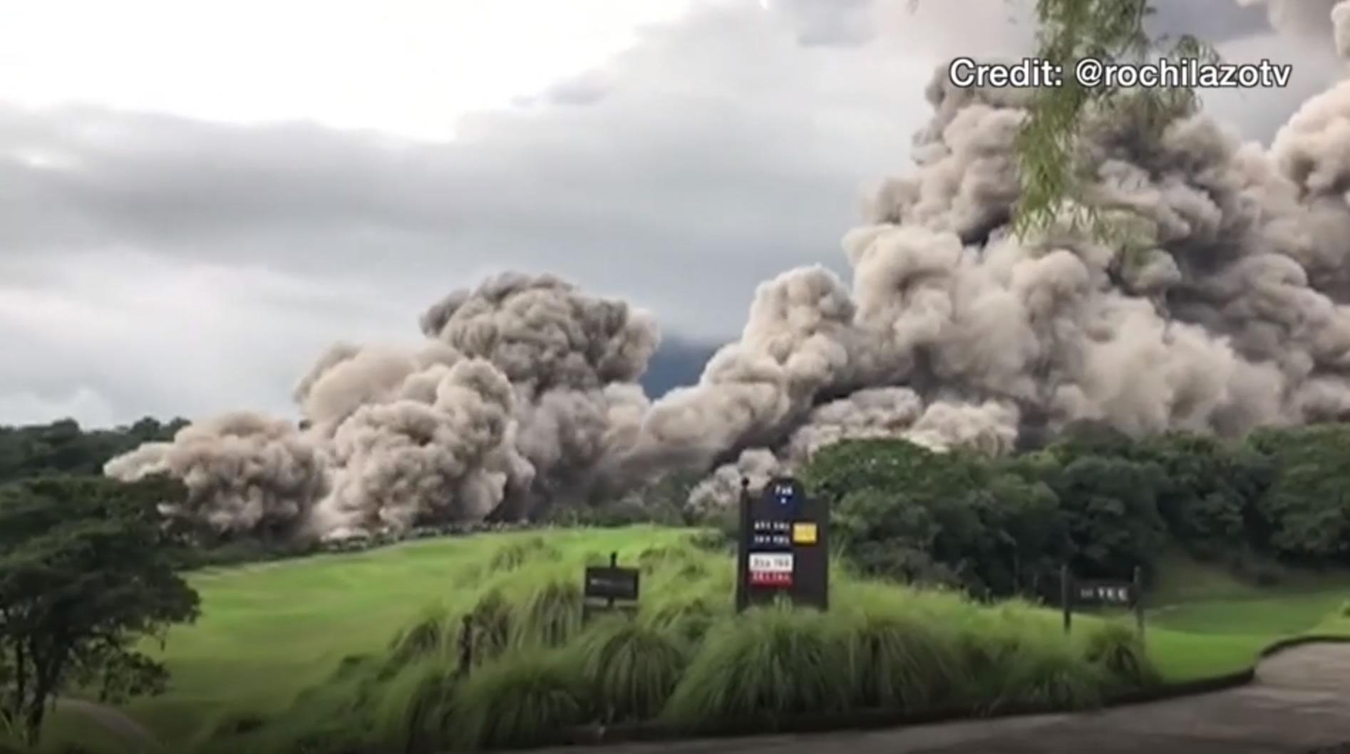 &nbspSobe o número de mortos após erupção vulcânica na Guatemala