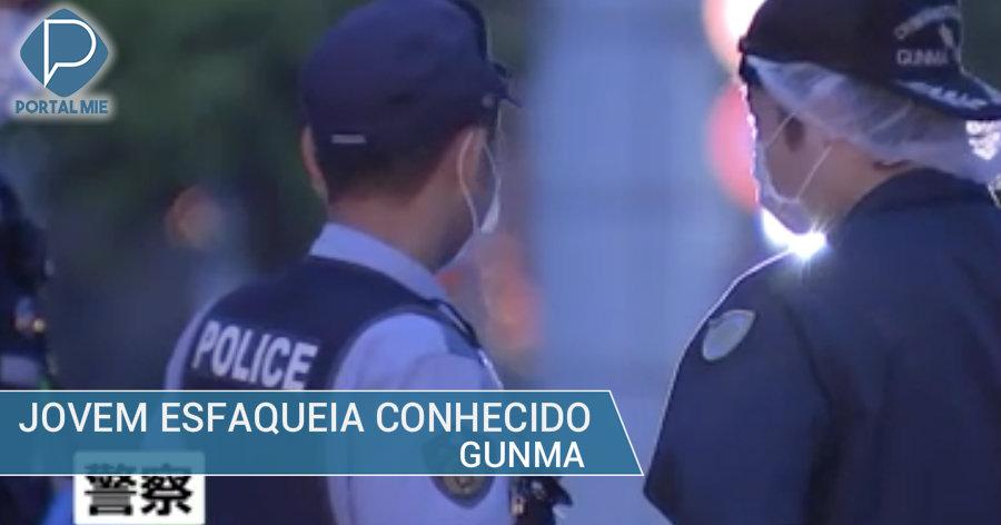 &nbspHomem esfaqueado em Gunma: conhecido preso em flagrante
