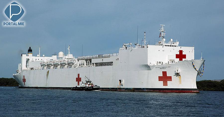 &nbspUm dos maiores hospitais flutuantes do mundo fez parada no Japão
