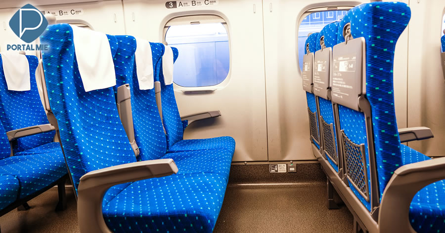 &nbspAssentos de shinkansen podem ser usados como escudos se um ataque ocorrer