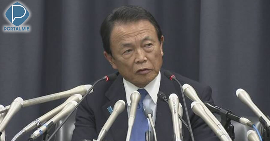 &nbspMinistro japonês devolve salário de 1 ano após escândalo sobre venda de terreno