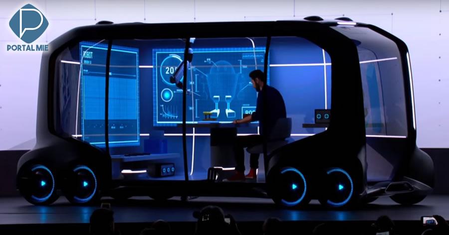 &nbspToyota transformará veículos 'sem motorista' em lojas de conveniência e cafés móveis