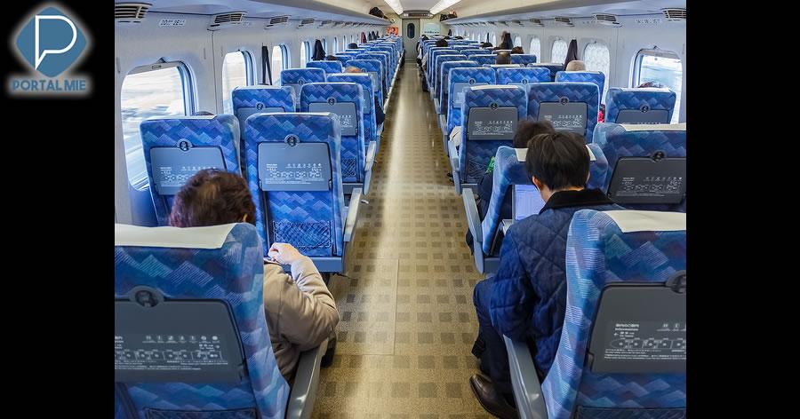 &nbspVagões de shinkansen terão equipamentos para deter passageiros violentos