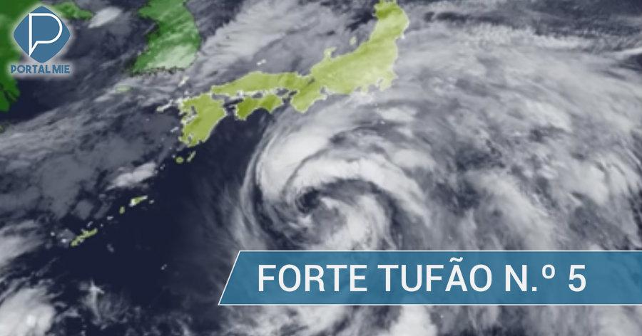 &nbspForte tufão número 5: chuva pesada em Kanto