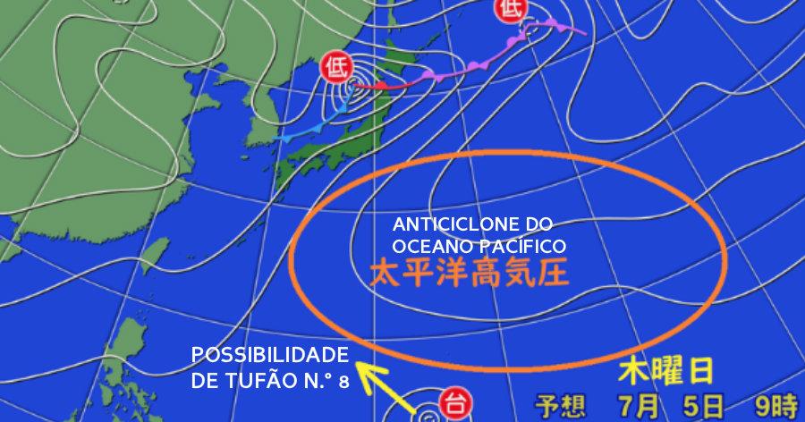 &nbspSerá um novo tufão, o de número 8?