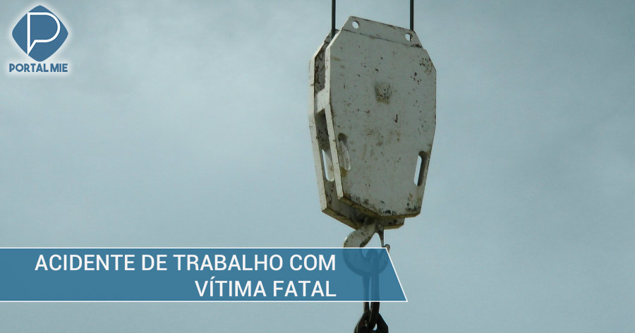 &nbspAcidente causa morte do trabalhador
