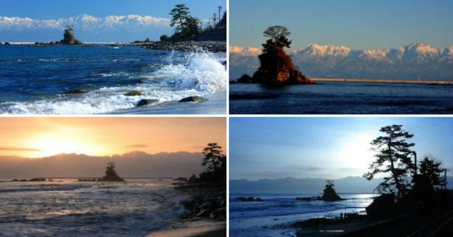 &nbspPraia de Shimao: a mais bela de Toyama, água limpa e camping