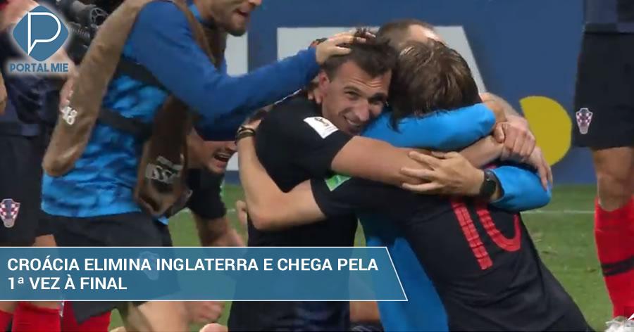 &nbspCroácia vence Inglaterra na prorrogação e está na final da Copa
