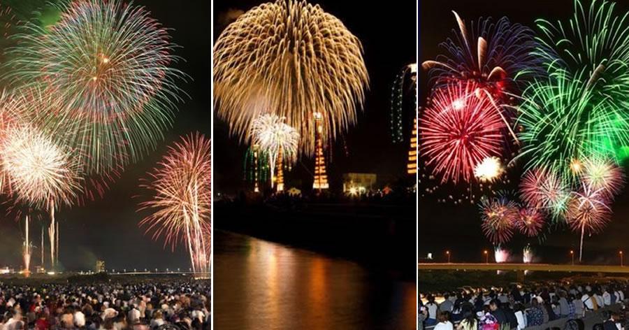&nbspFestivais de fogos de artifício em Toyama
