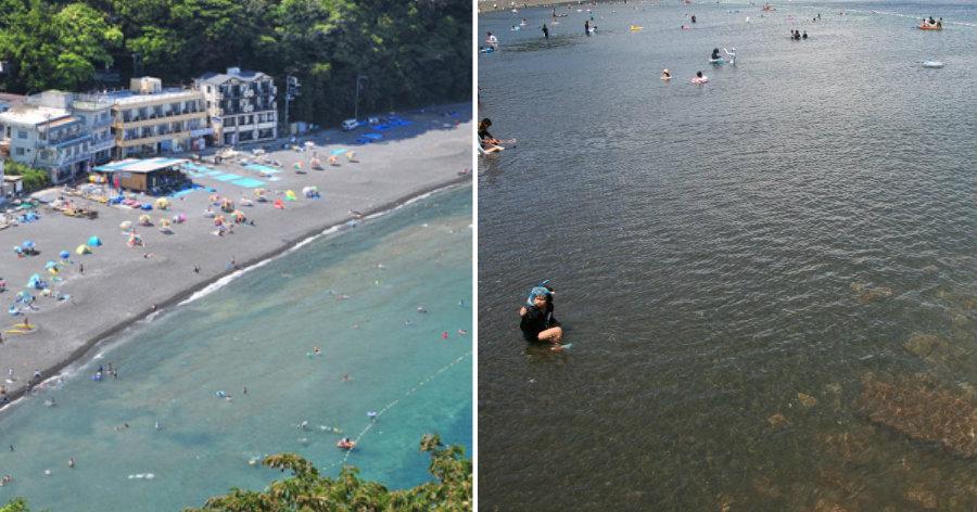&nbspPraia de Ose: paraíso dos mergulhadores e excelente para crianças
