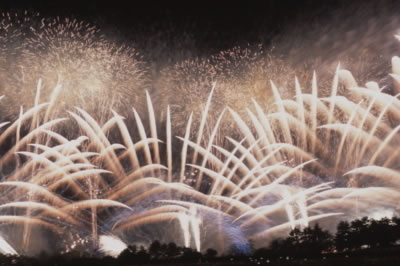 &nbspExibições de fogos de artifício em Osaka