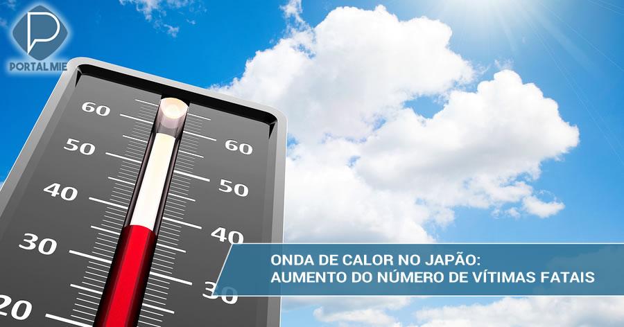&nbspNúmero de mortos em onda de calor no Japão sobe para mais de 30