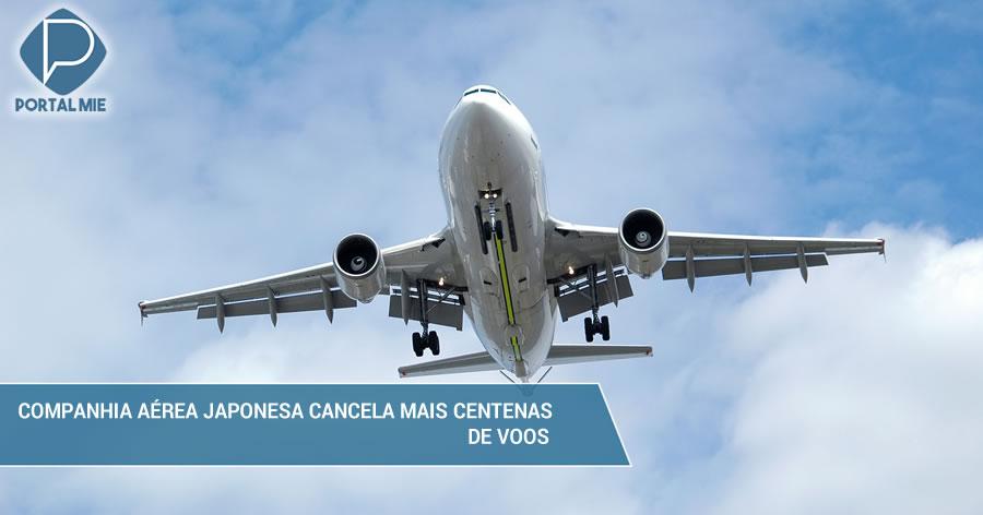 &nbspCompanhia aérea japonesa cancela mais 330 voos domésticos para inspeções de motor