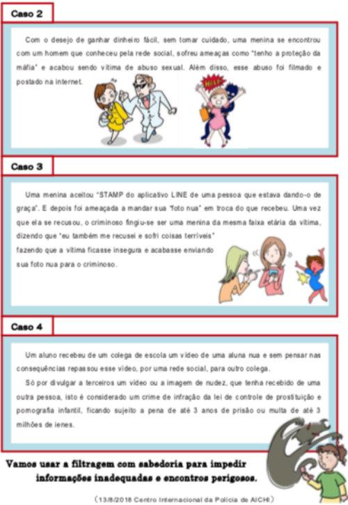 &nbspPolícia alerta pais sobre uso das redes sociais pelos filhos