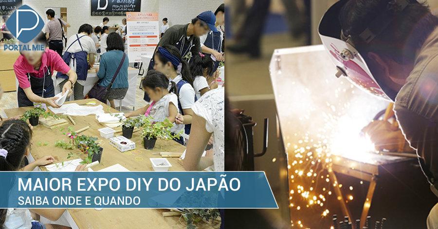 &nbspMaior feira de DIY do Japão