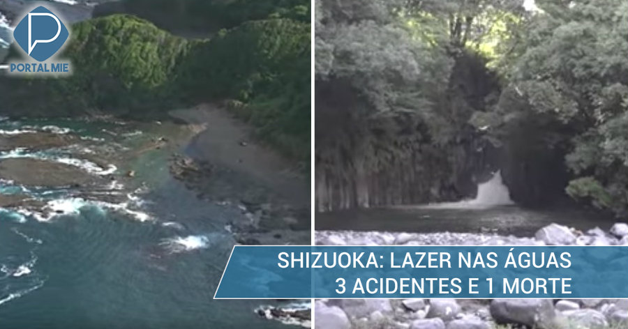 &nbspLazer na praia e rio de Shizuoka: acidentes e morte