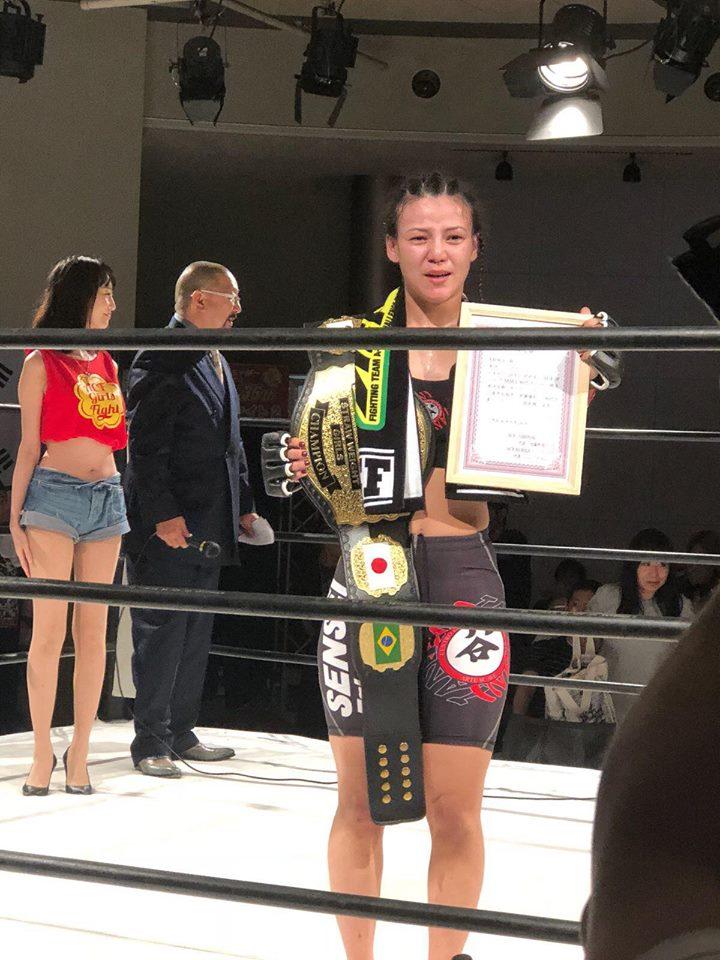 &nbspVitória brasileira na ACF Girls Fight
