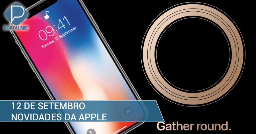 &nbspNovos iPhones: evento da Apple em 12 de setembro