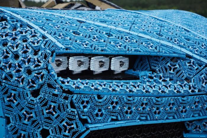 &nbspBugatti Chiron feito com 1 milhão de peças de Lego