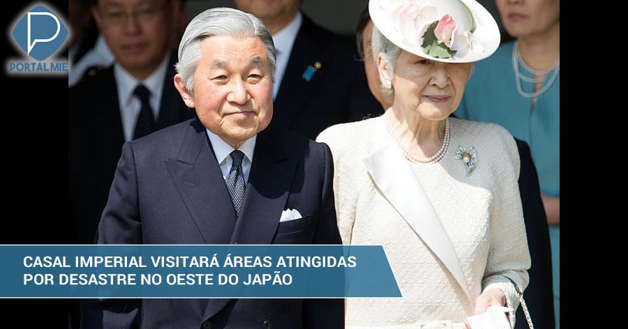 &nbspCasal imperial visitará províncias de Hiroshima e Okayama