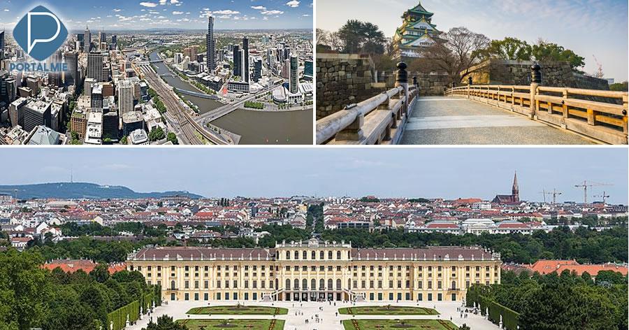 &nbspAs melhores cidades do mundo para viver