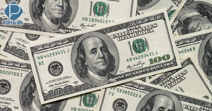 &nbspDólar fecha em alta pelo sexto pregão consecutivo e atinge R$ 4,055