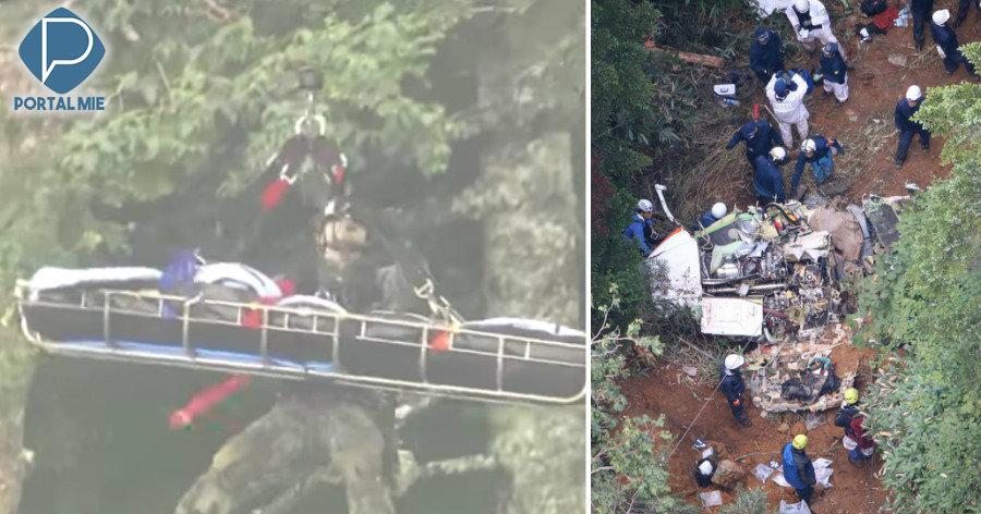 &nbspQueda do helicóptero: sem sobreviventes e causa do acidente