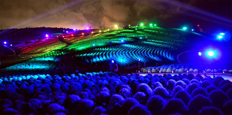 &nbspShow de luzes no Parque Hitachi Seaside em Ibaraki