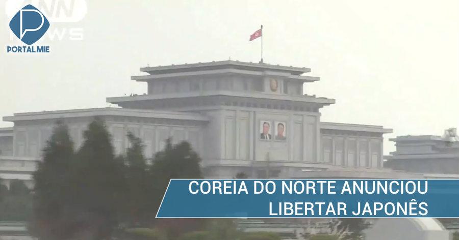 &nbspJaponês será libertado da Coreia do Norte