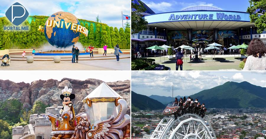 &nbspOs 10 parques temáticos mais populares do Japão