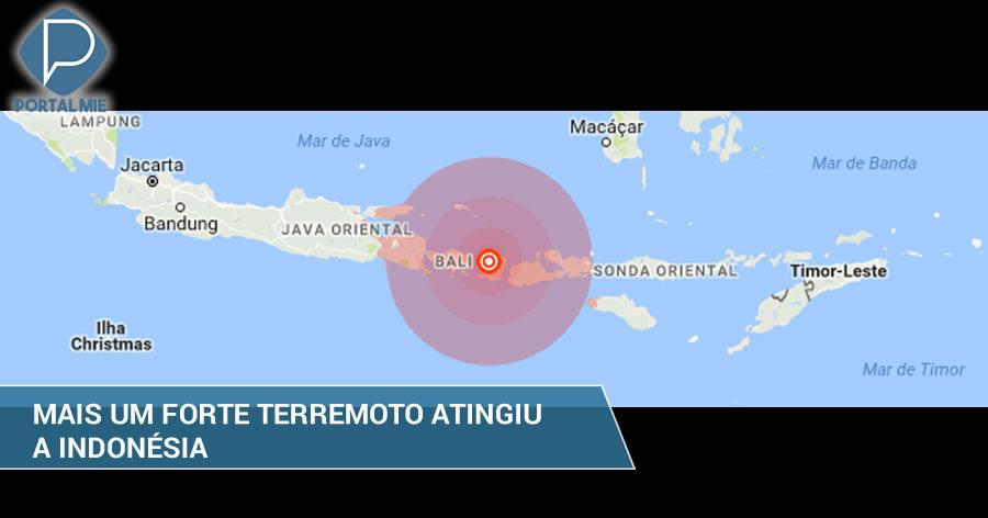 &nbspIndonésia é atingida por mais um forte terremoto em menos de 2 semanas