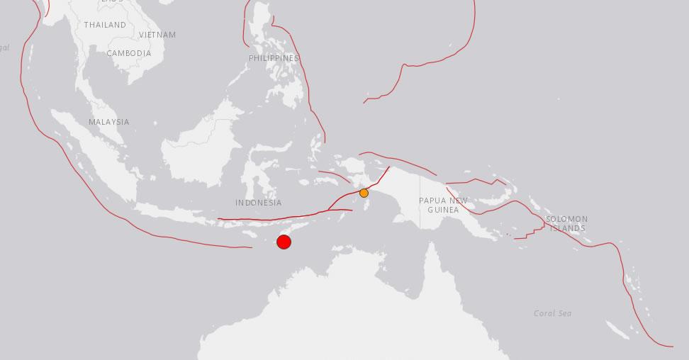 &nbspTerremoto de magnitude 6,2 atinge a Indonésia