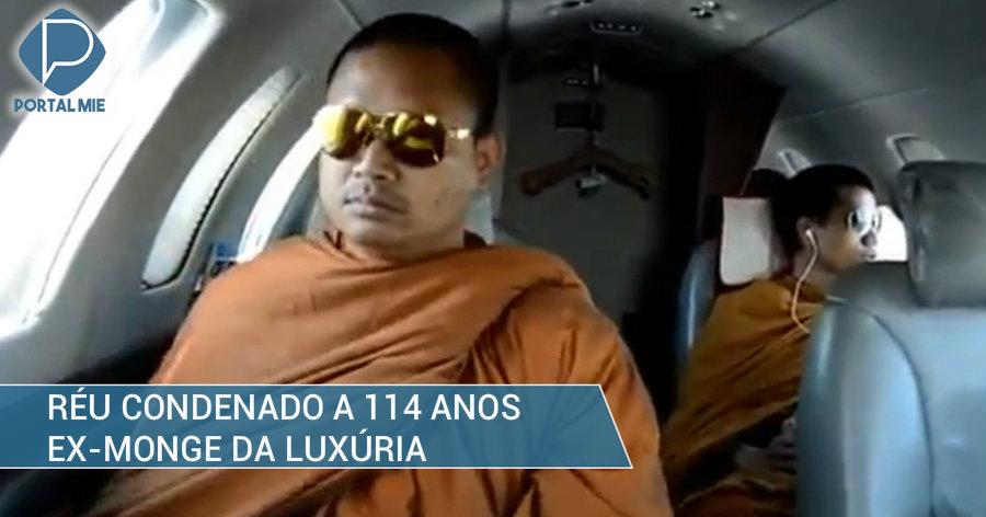&nbspEx-monge da luxúria condenado a 114 anos de prisão