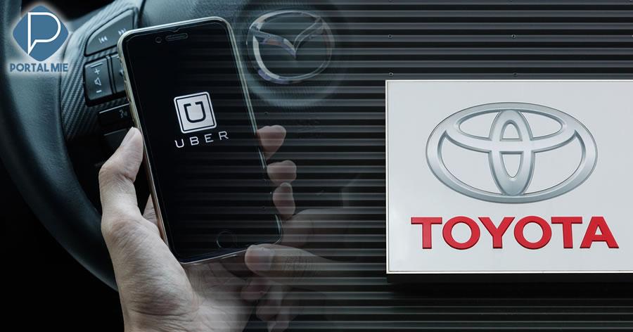 &nbspToyota investirá 500 milhões de dólares na Uber