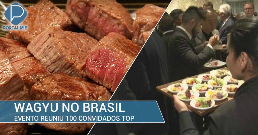 &nbspJapão leva o encanto da carne wagyu para o Brasil