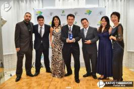 &nbspBusiness Award Japão 2018 no Arc en Ciel Garden