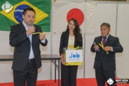 Fukiage Hall Nagoya&nbspJob Net Fair e Focus Brasil 2018 em Aichi (domingo)