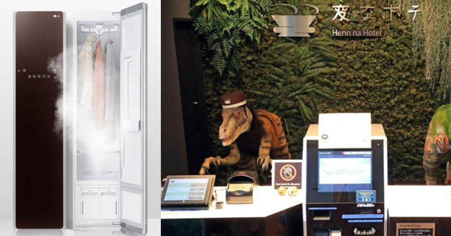 &nbsp'Hotéis esquisitos' se espalham pelo Japão