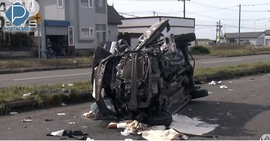 &nbspMãe e filha de 6 anos morrem em acidente de carro