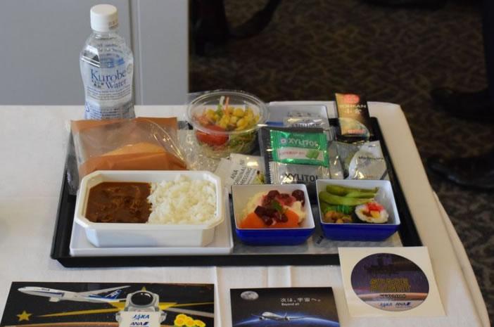 &nbspCompanhia aérea japonesa está servindo comida espacial em voos